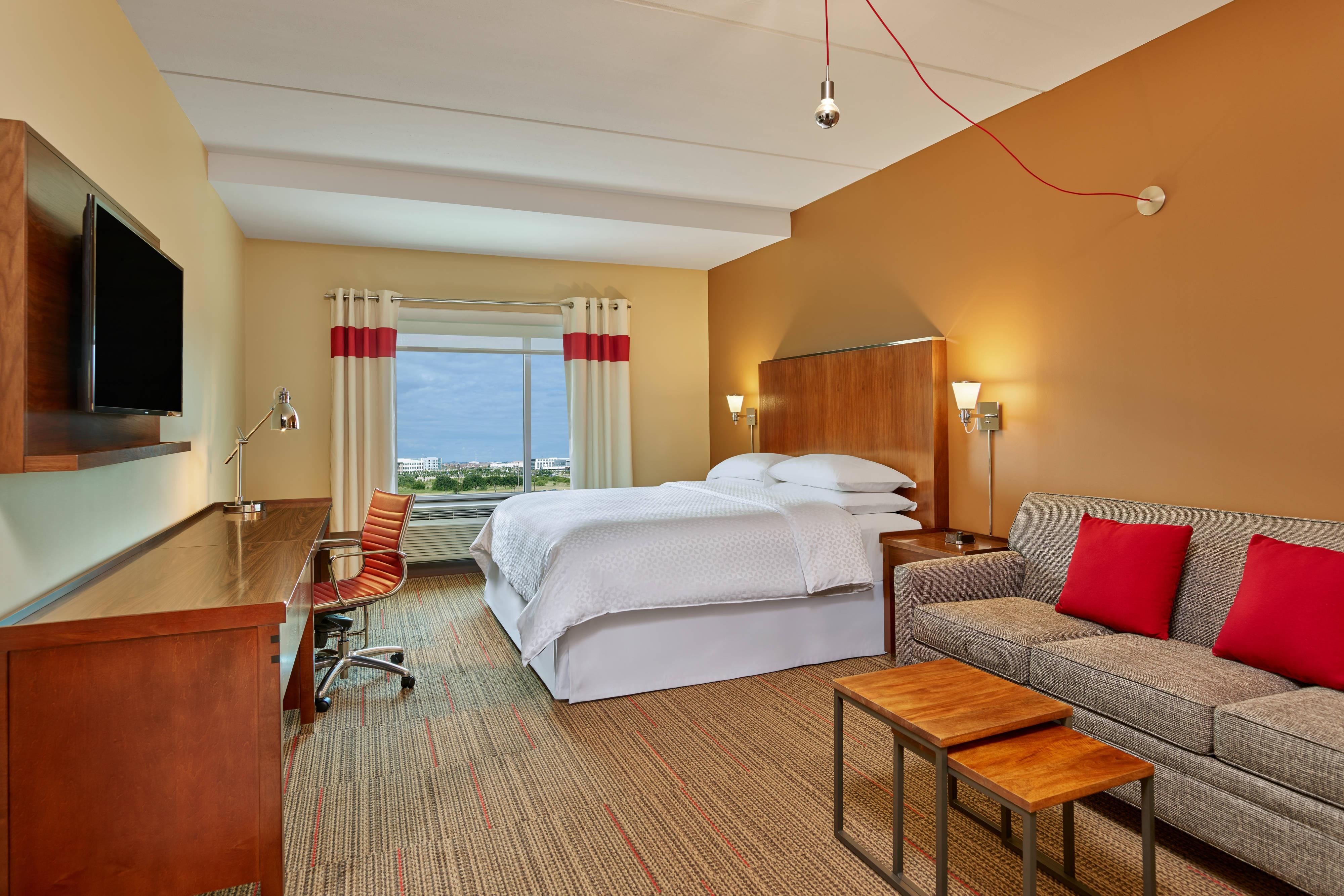 Chambre Deluxe avec très grand lit (King)