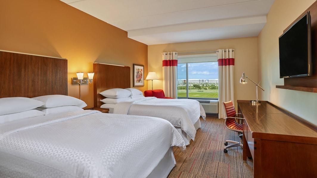 Chambre standard avec grand lit (Queen)