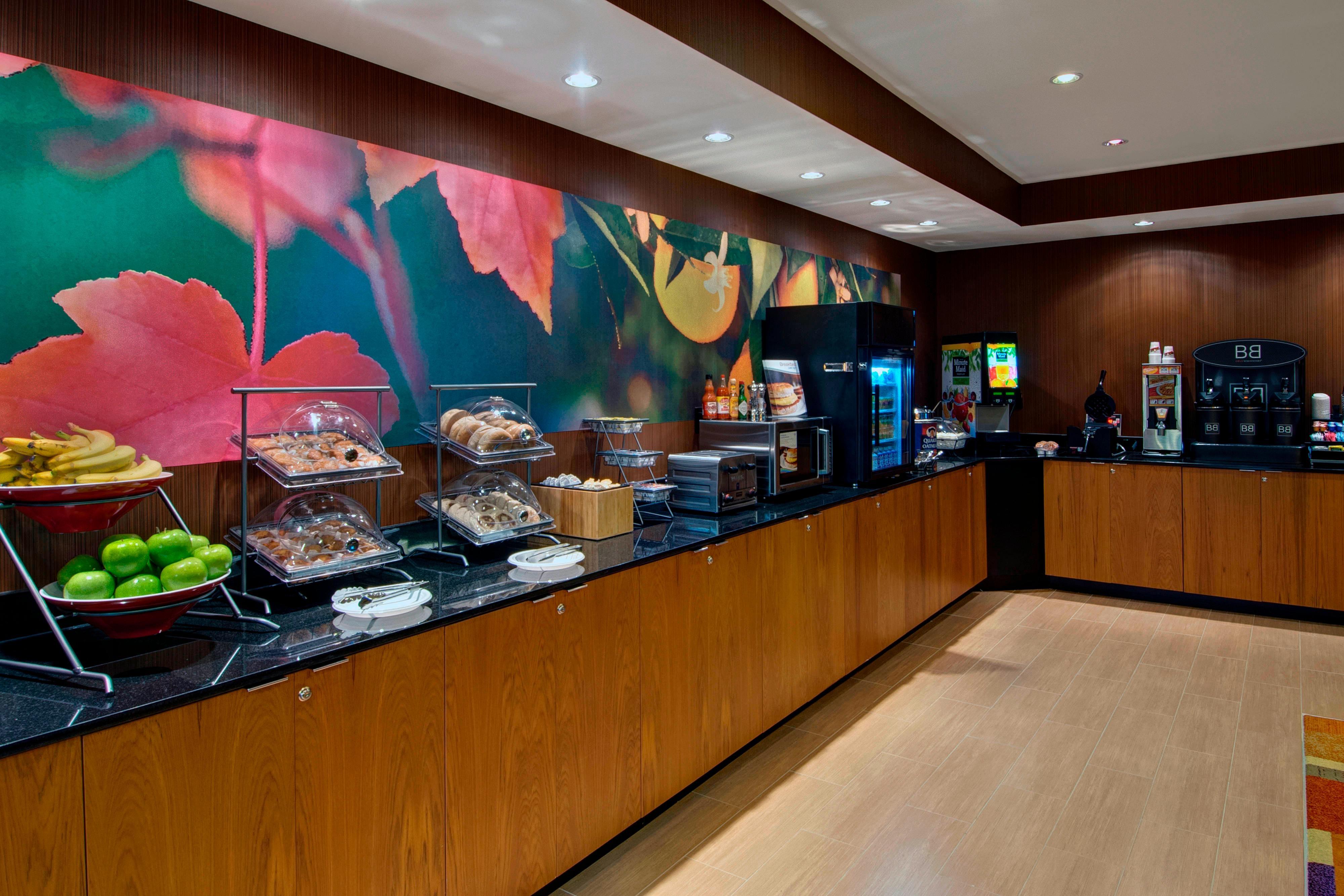 Breakfast bar Fort Worth hotel