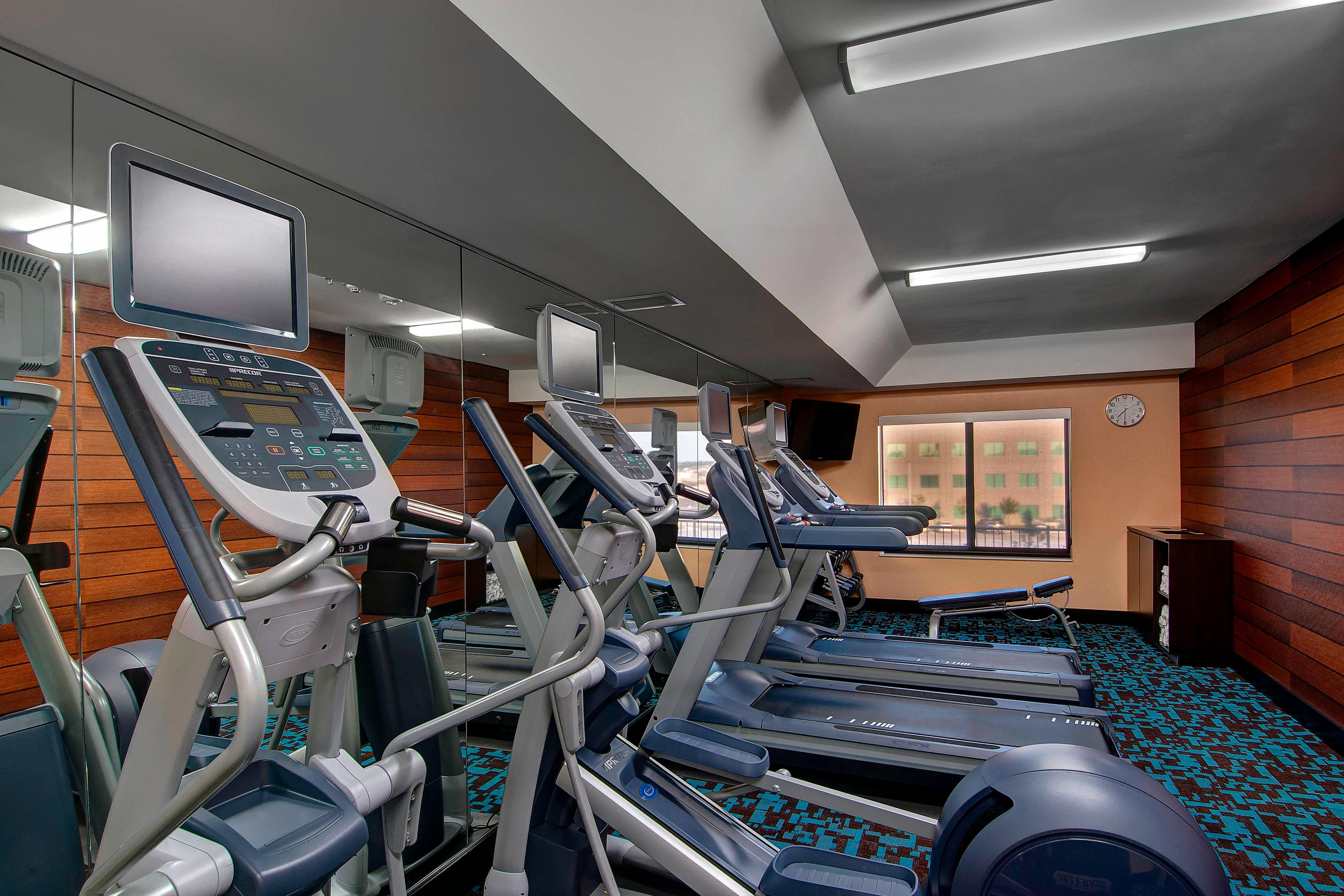 Fort Worth Hotel Fitness Center