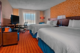 Hotel room in Fort Worth