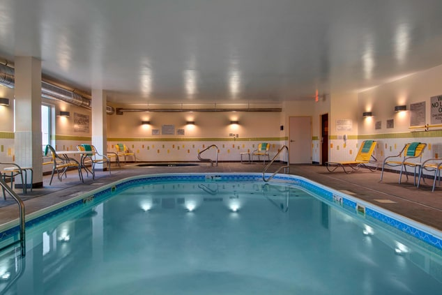 Hotel pool in Fort Worth