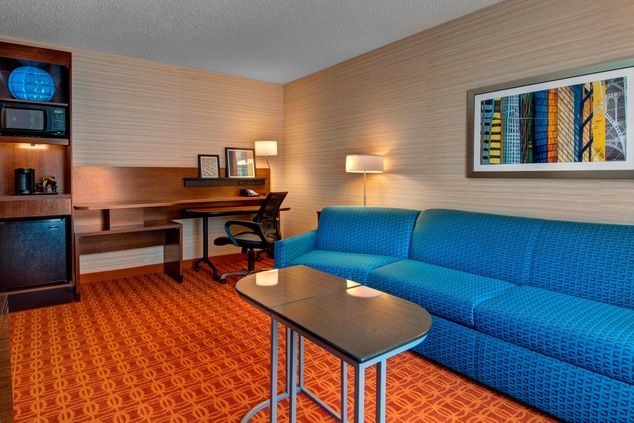 Fort Worth Texas hotel suite