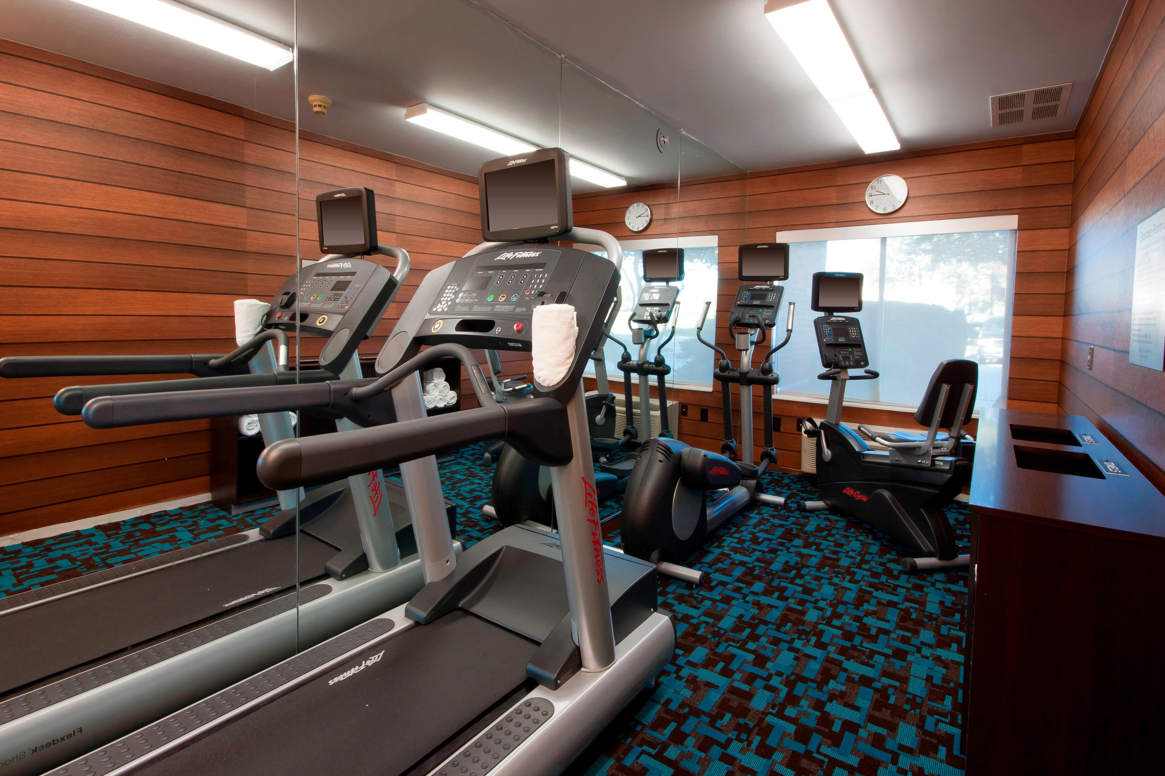 Fort Worth Hotel Gym