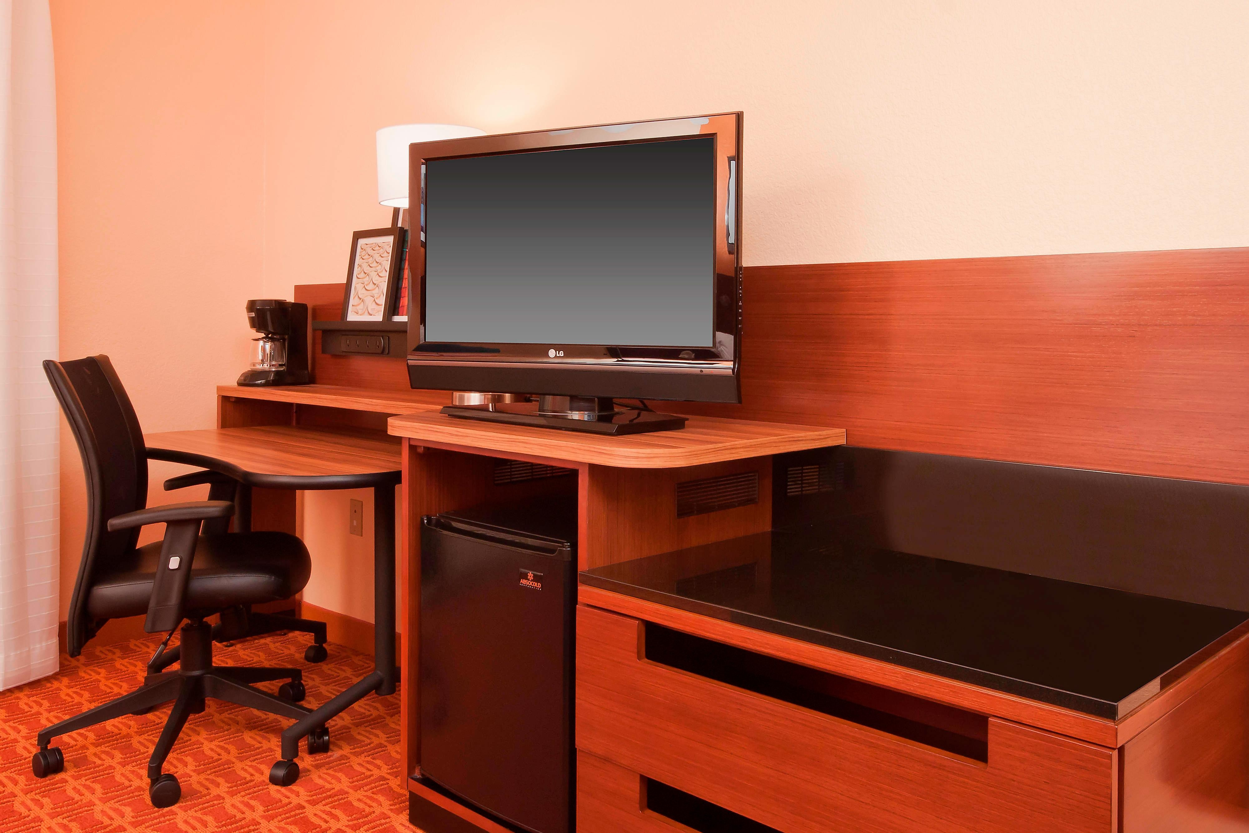 Marriott Hotel Work Desk