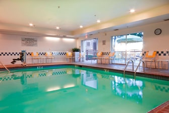 Indoor Heated Hotel Pool