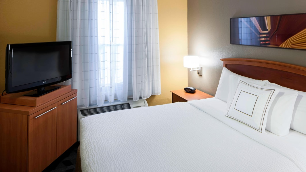 Suite de un dormitorio del TownePlace Suites Dallas Arlington North