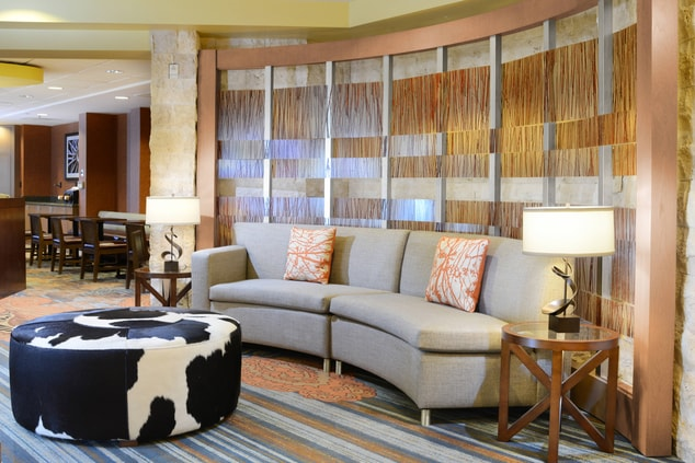 SpringHill Suites Fort Worth University Lobby