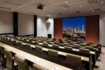 Lecture Style Seating