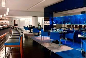 مطعم فيوجن، بار سوشي