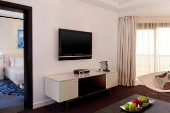 جناح الخليج (Gulf)، غرفة المعيشة