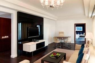 جناح دبلوماسي - غرفة المعيشة