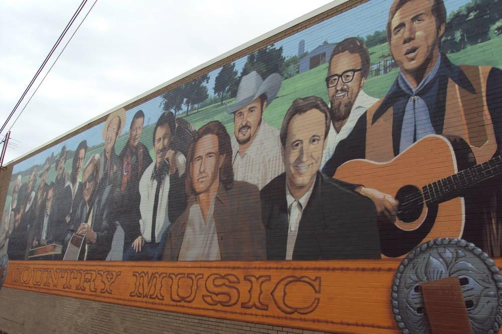 Country Music Mural