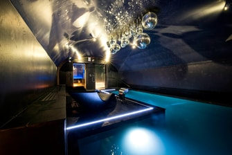 Indoor Spa Pool and Sauna