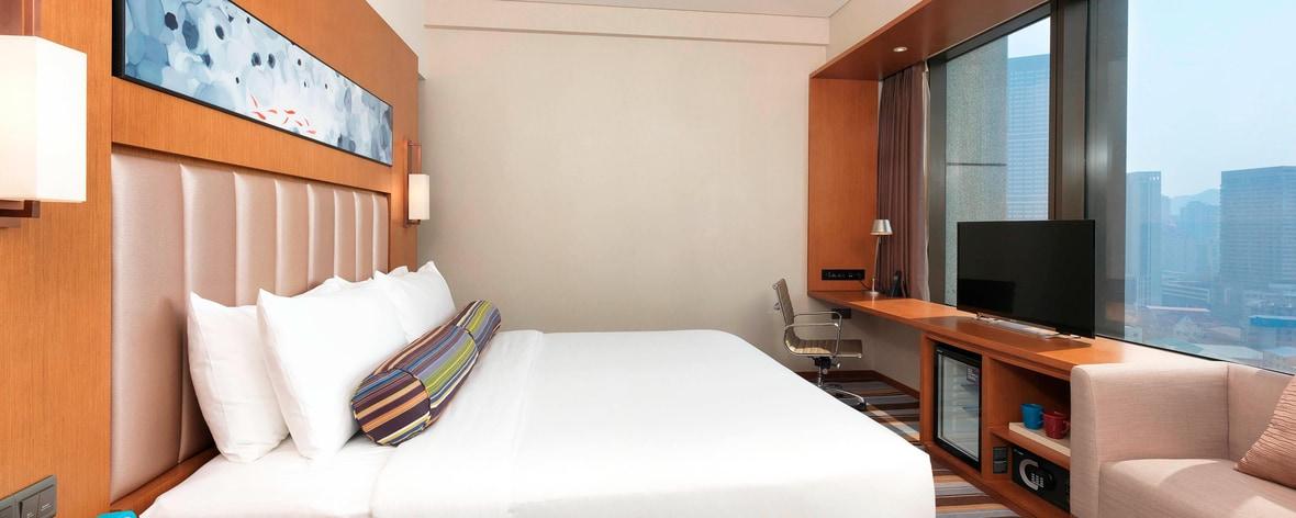 Habitación Aloft con cama King