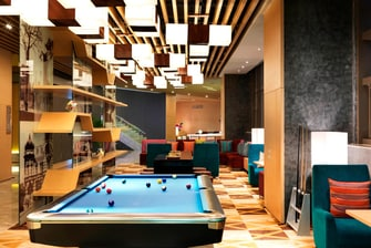 remix lounge Pool Table