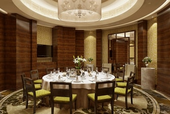 Collections Private Dining Room - Rendering