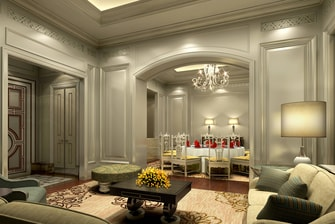 Zhen Bao Private Dining Room - Rendering