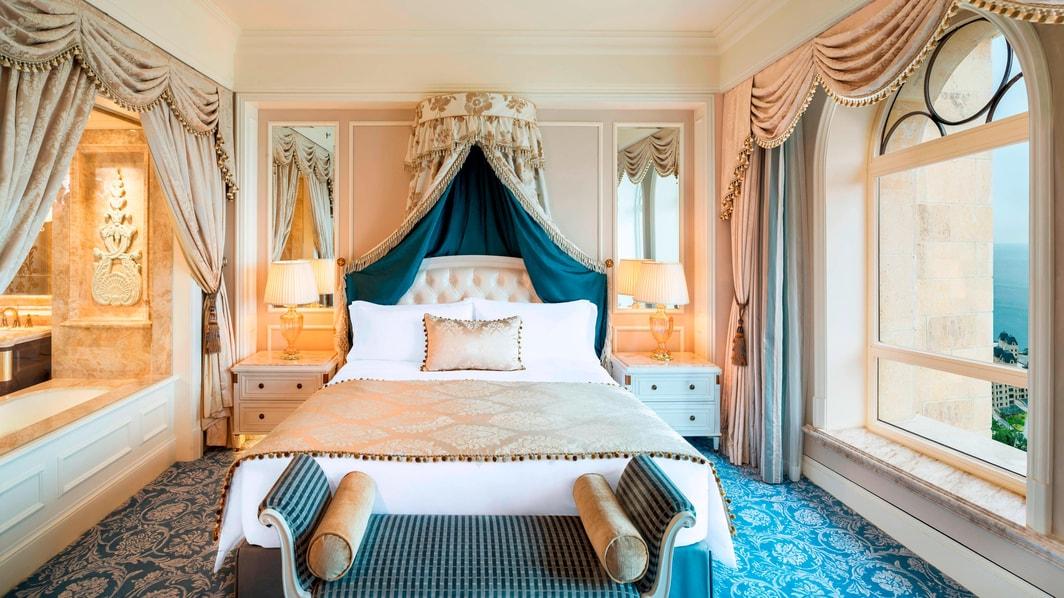 Suite Ocean en piso superior - Dormitorio