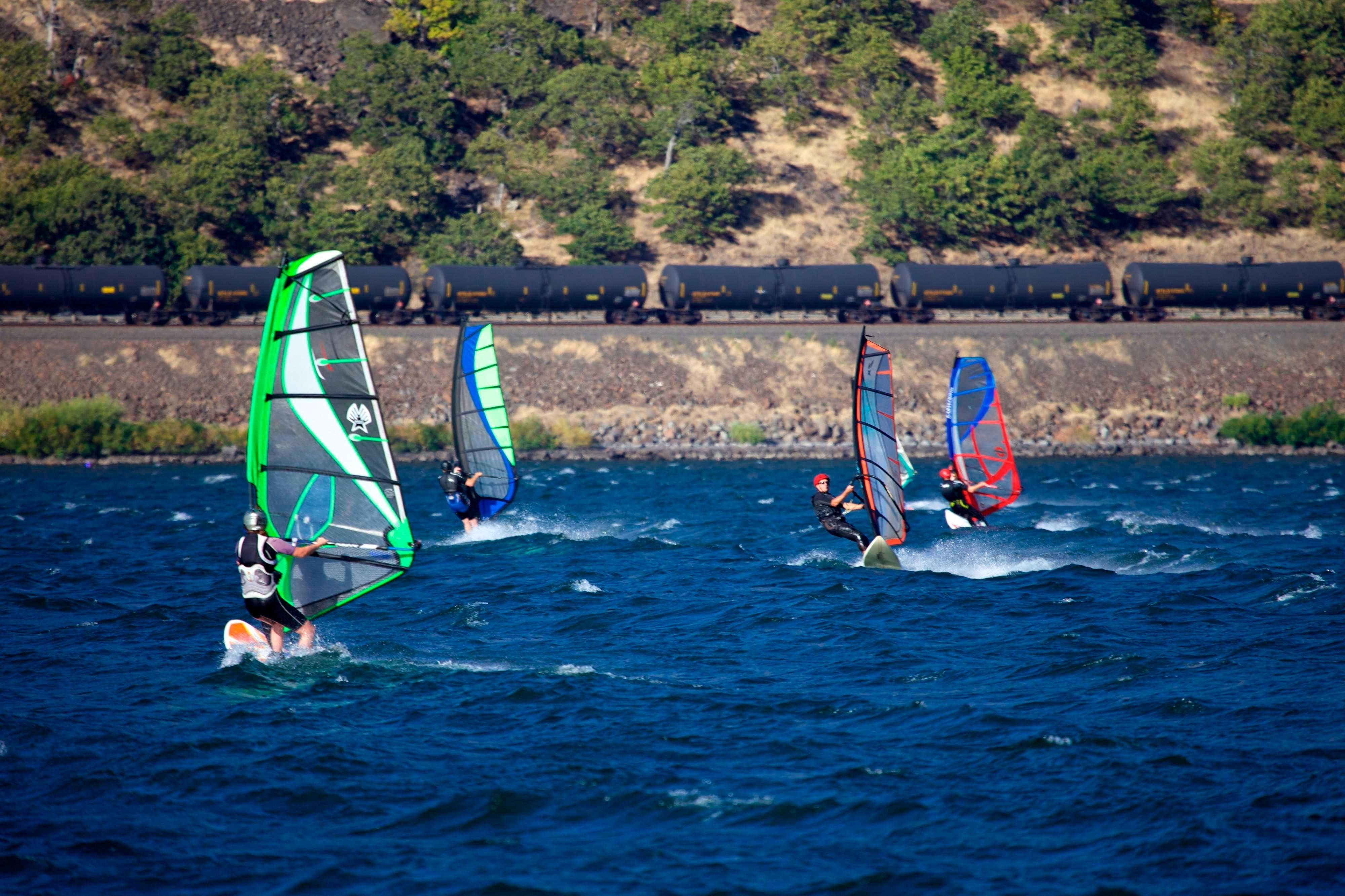 Columbia River Gorge Windsurfing