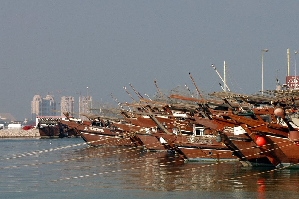Sightseeing: Dhows