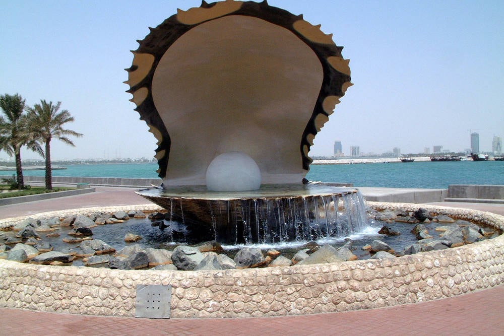 Sightseeing: The Pearl Oyster Monument