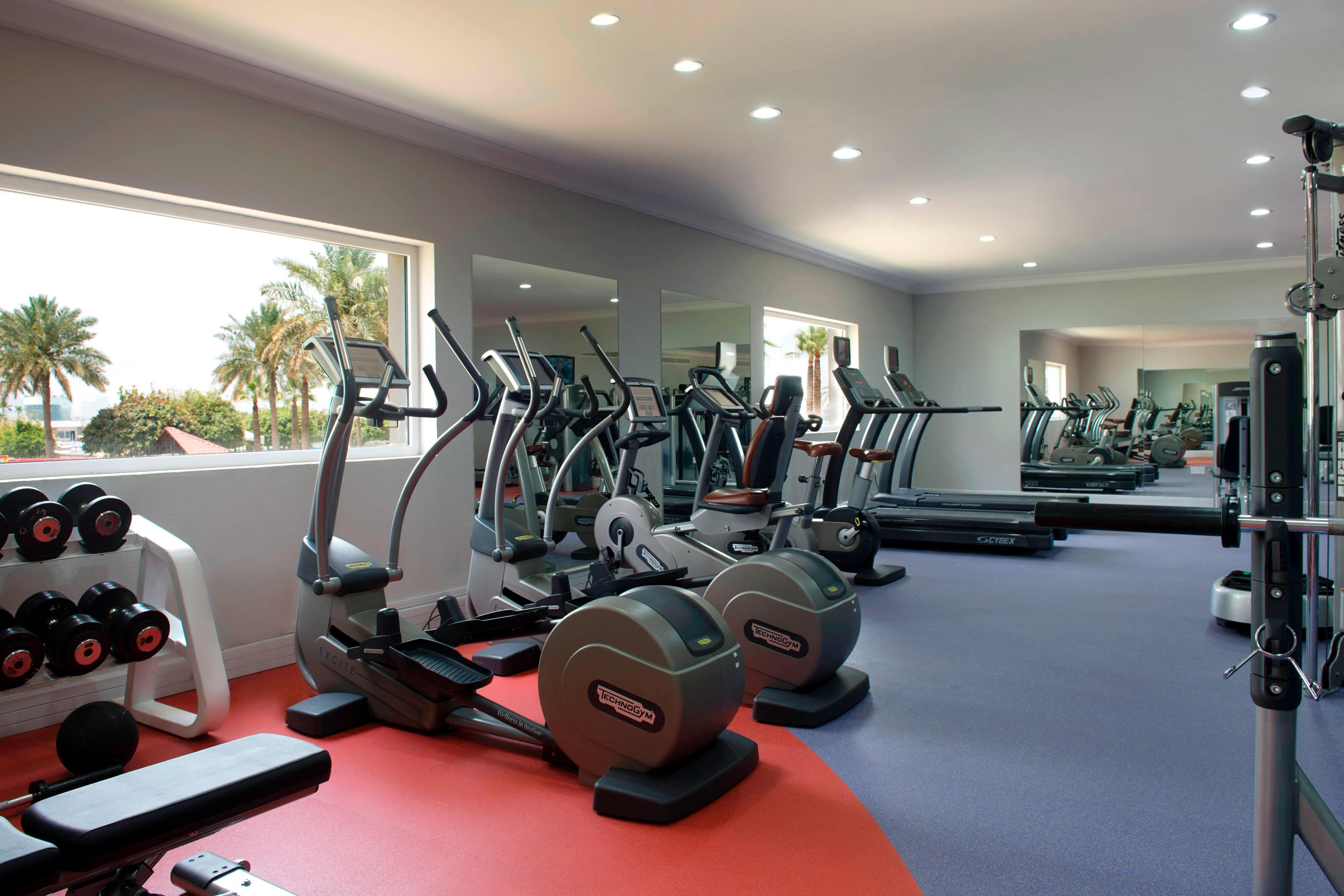 Doha Marriott Gym - Cardio