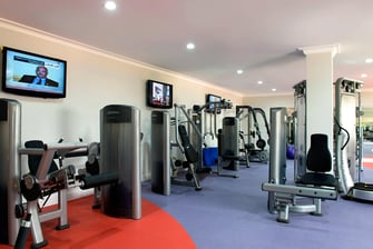 Doha Marriott Gym