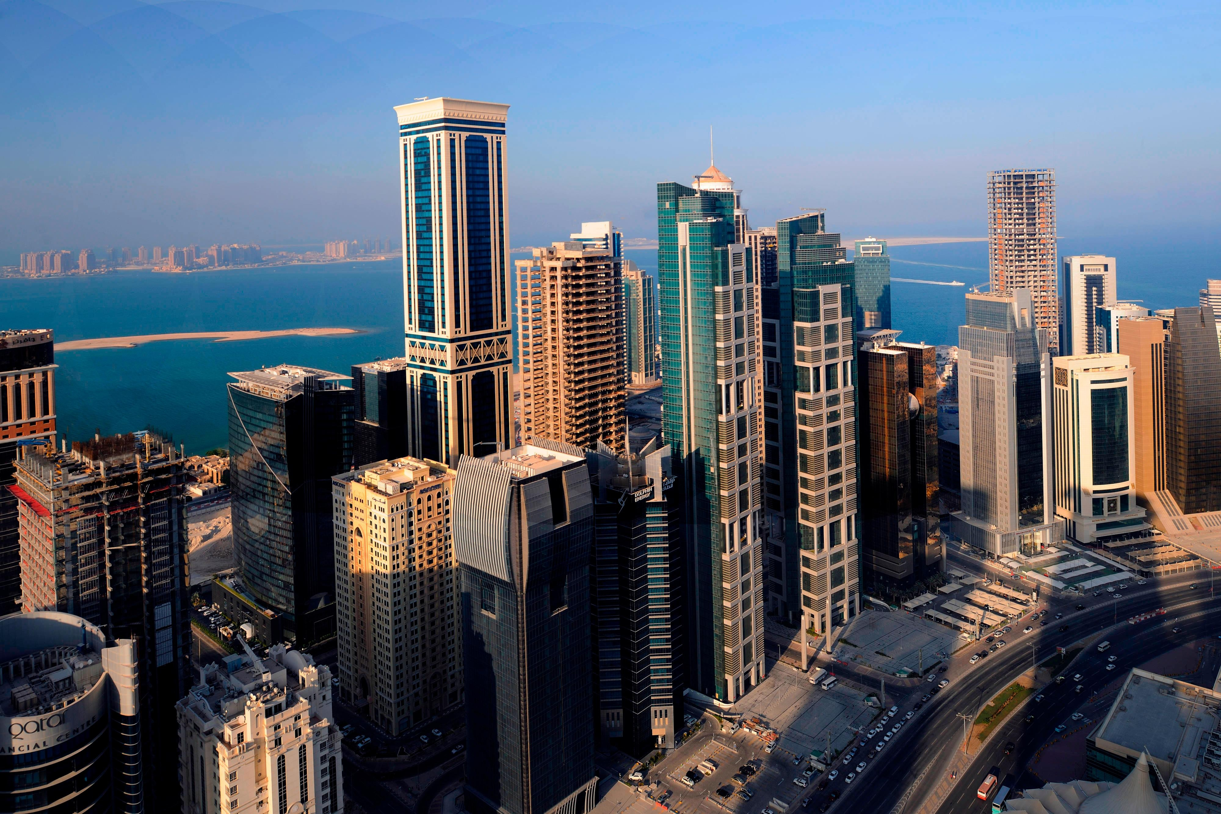 Doha West Bay Financial District