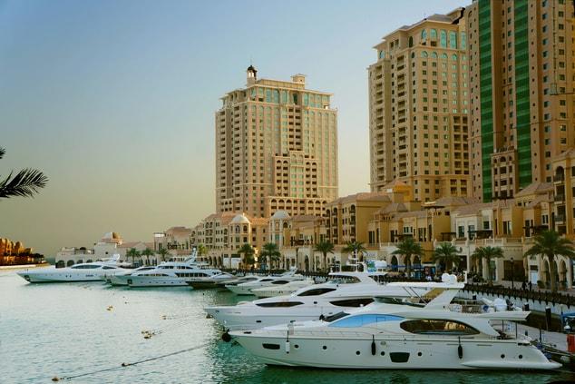 Pearl Island Doha, Qatar