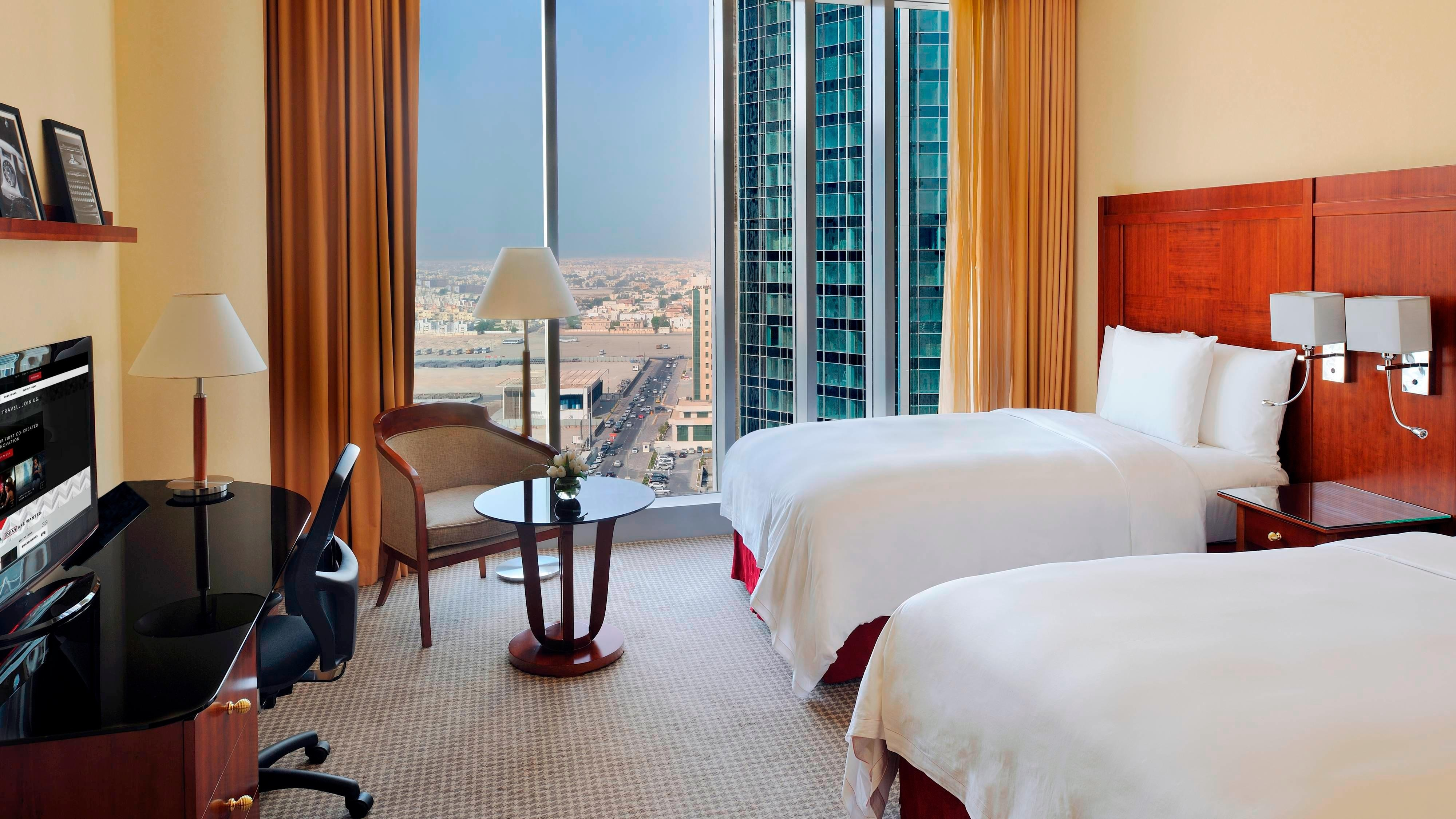Guest room in downtown Doha