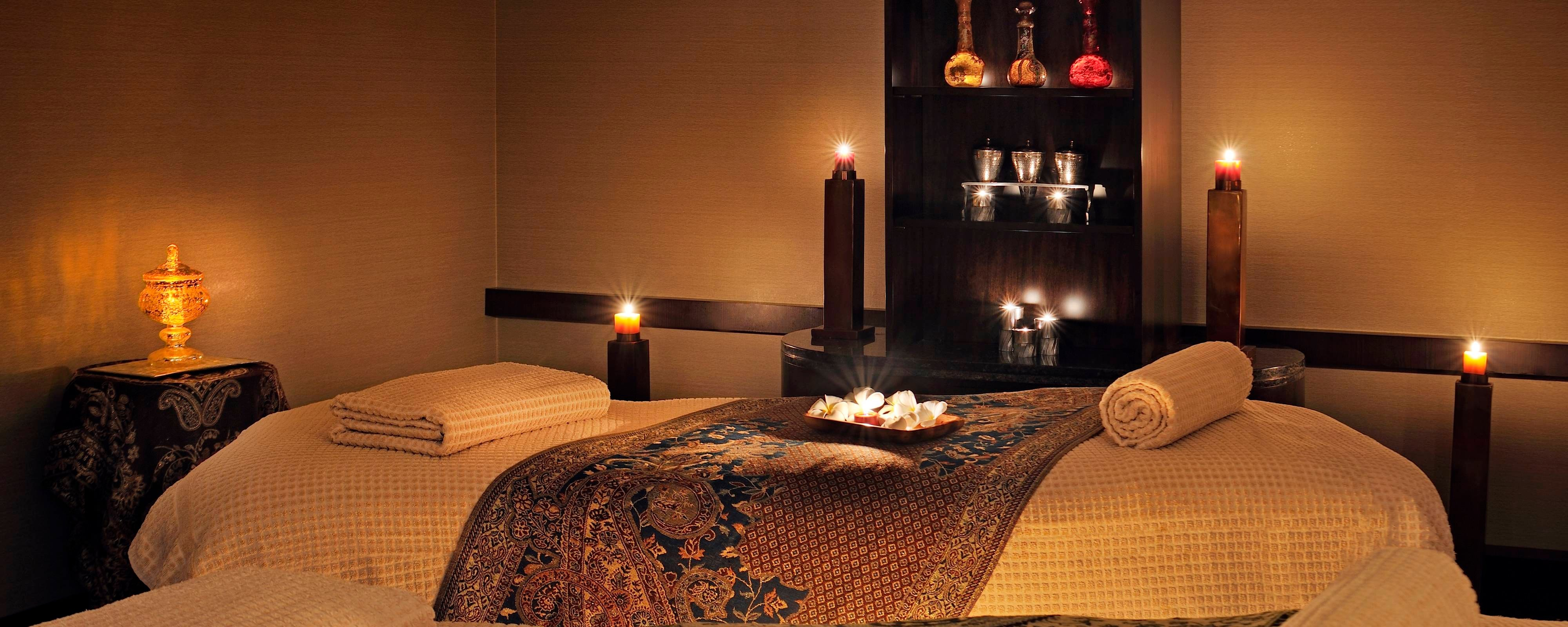 Hotel spa in downtown Doha