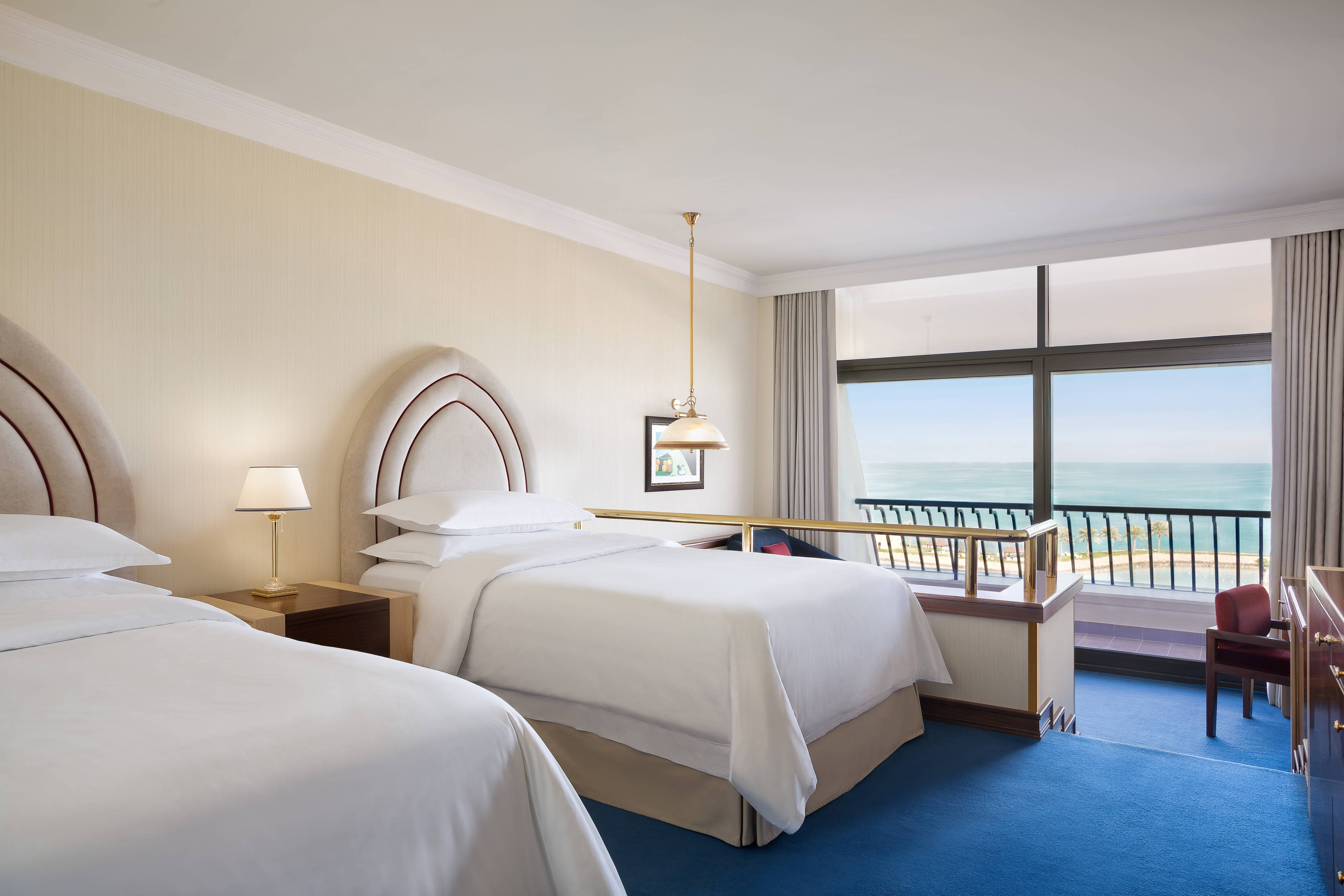 Twin Bed Seaview Deluxe Guest Room