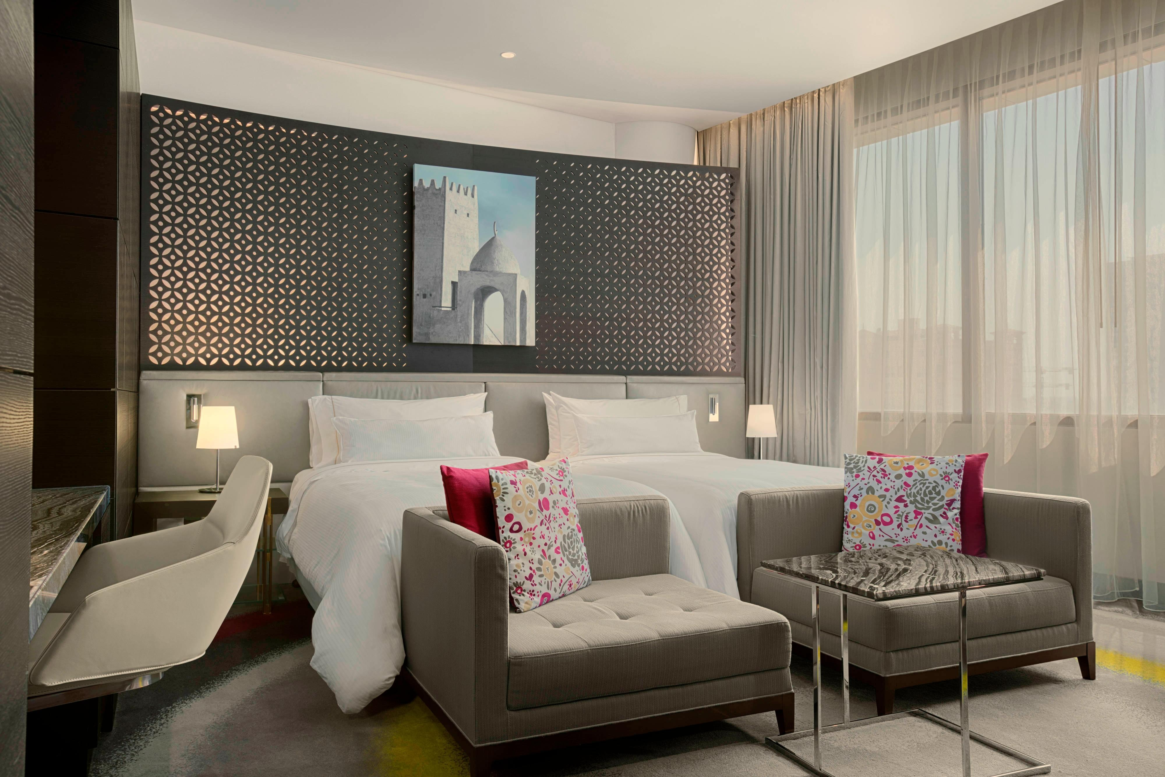 Designed with total wellness in mind, each generously sized Deluxe room provides the perfect retreat for the business or leisure traveler.