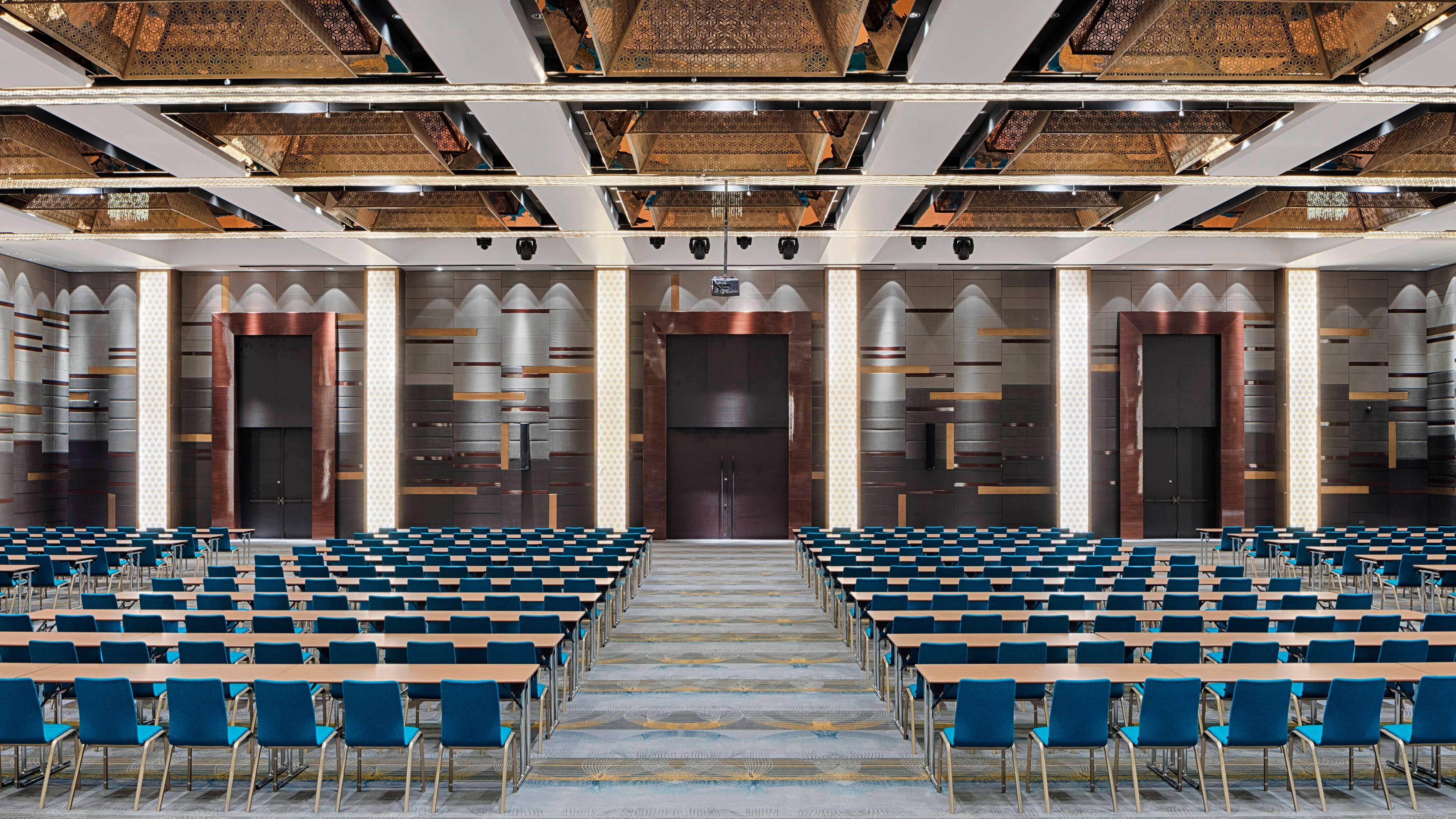 The Westin Grand Ballroom at The Westin Doha Hotel & Spa is the second largest in Doha, lending itself perfectly for private functions, royal weddings or any corporate event.