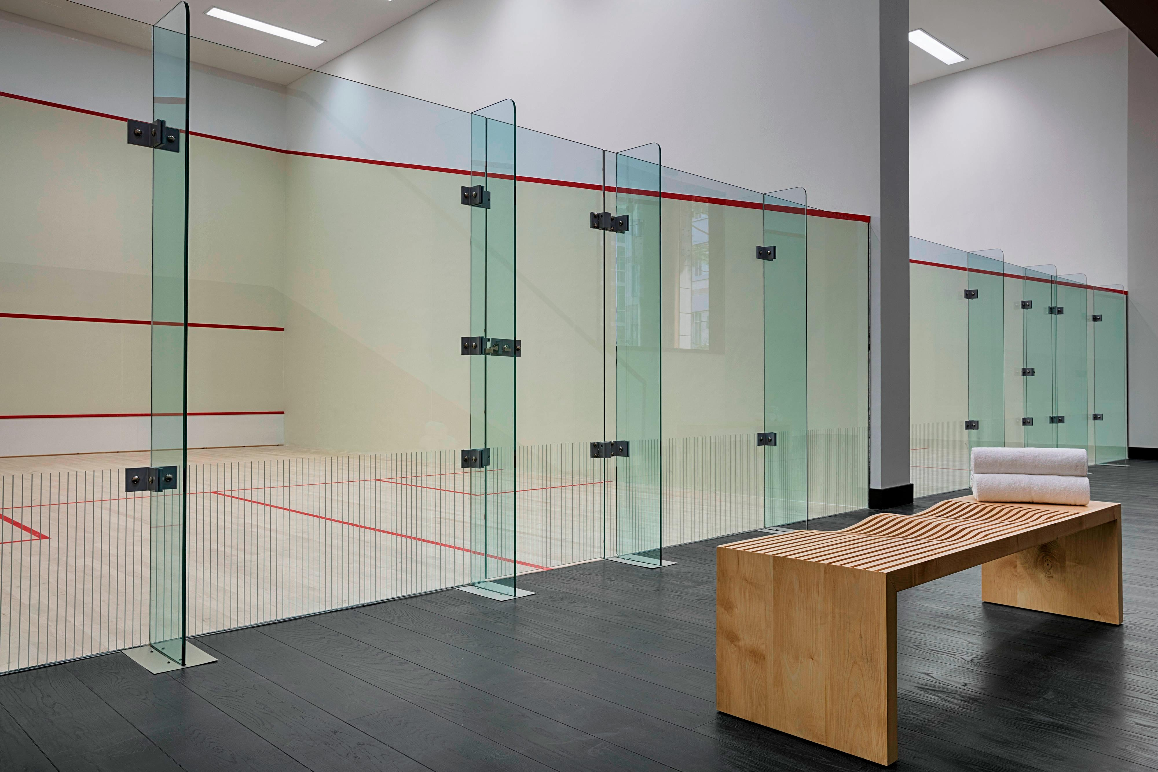 Grab your racket, re-energize and challenge yourself in the private Squash courts at The Heavenly Spa.