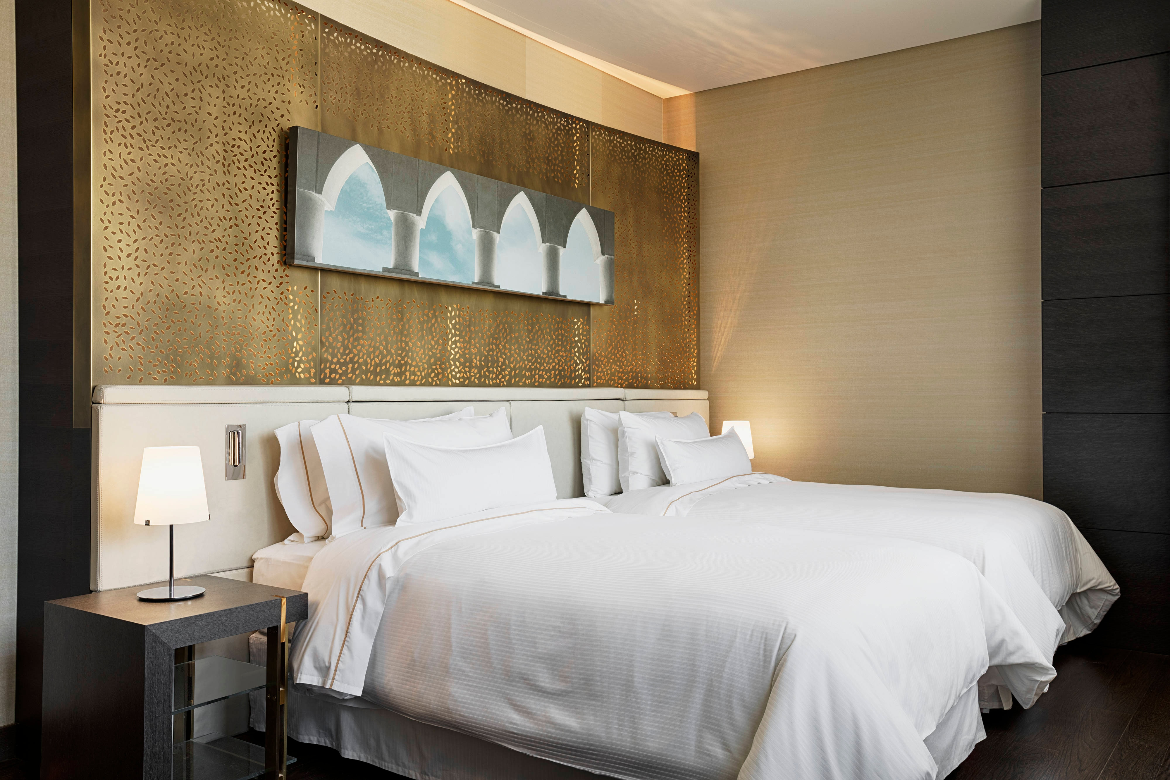 Separate bedrooms offer a peaceful sanctuary, featuring twin Westin Heavenly® Beds—an oasis of lush sheets, down cushioning, and a patented pillow-top mattress.