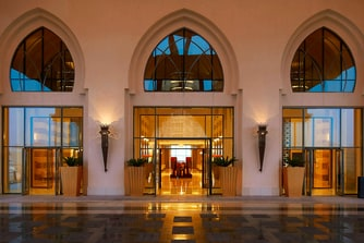 The St. Regis Doha Entrance