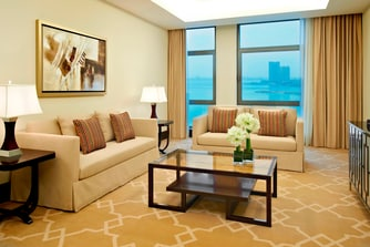 The John Jacob Astor Suite - Living Room