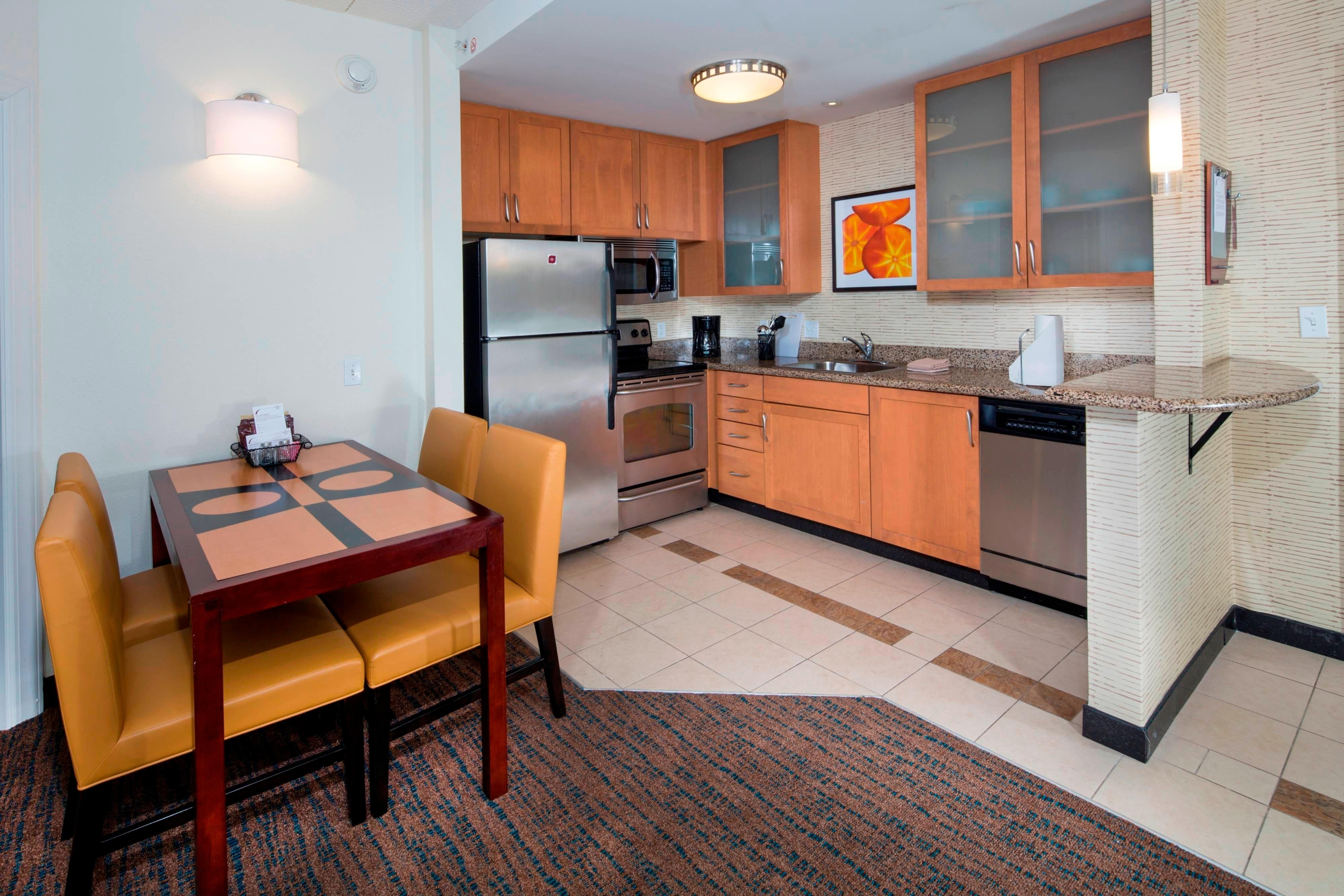 Suite kitchen area