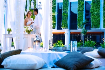 Pool Side Wedding in Legian Bali