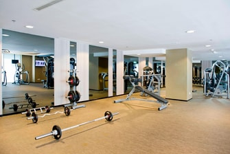 24 hours Fitness Center in Legian Bali
