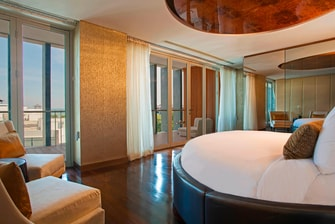 Private Presidential Suite, Bedroom in Legian Bali