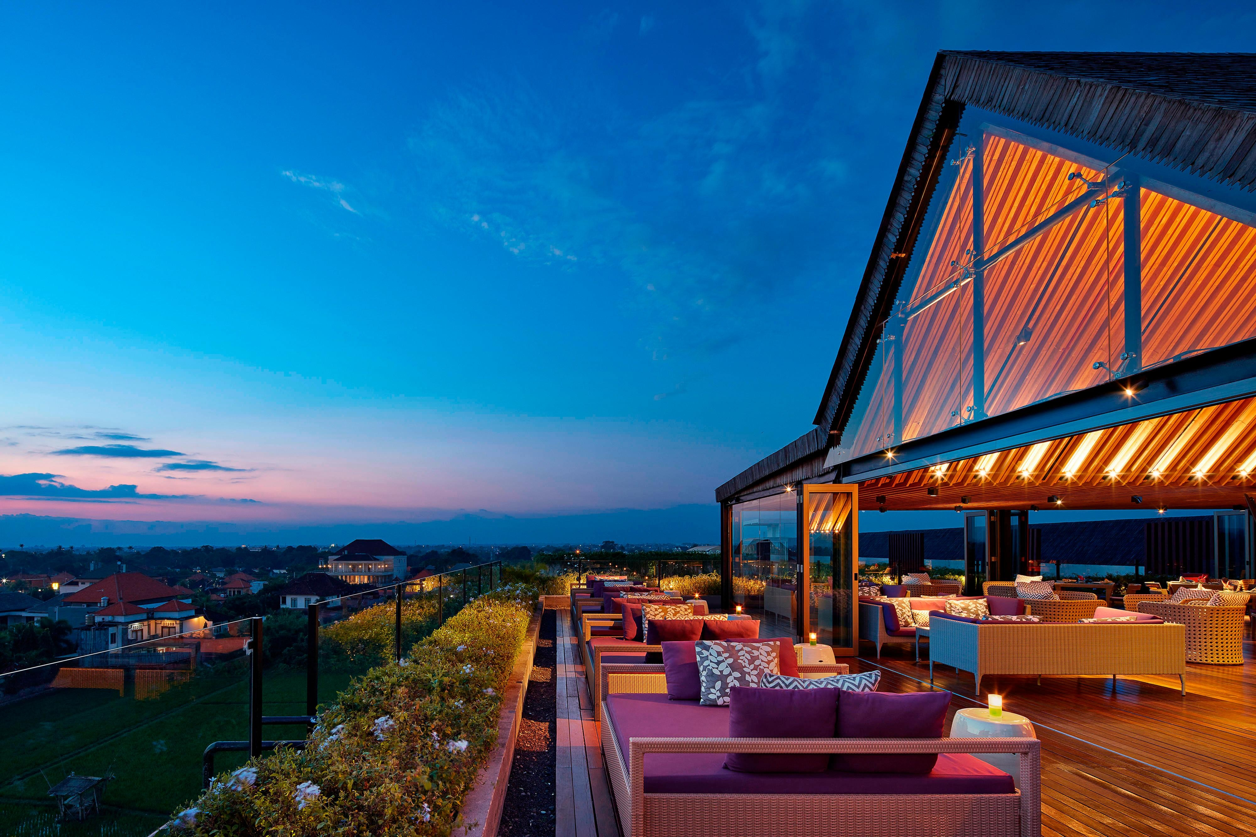 Above Rooftop Lounge Bar Outdoor