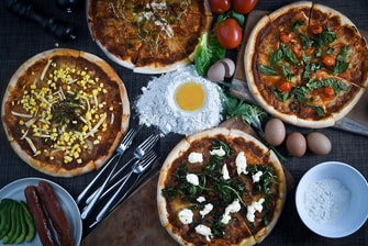 Homemade Wood Fired Pizza Variants