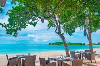 Arwana Restaurant Terrace - Beachfront Lunch