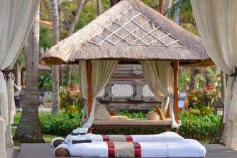 Beachfront Spa Gazebo