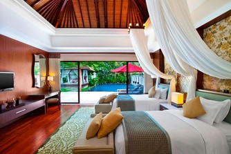 The Laguna Pool Villa Twin Bedroom