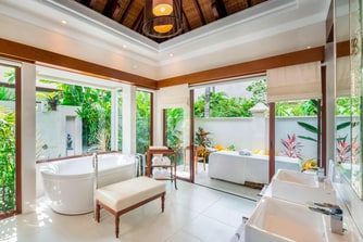 The Laguna Pool Villa Bathroom