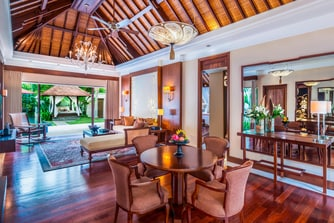 The Laguna Pool Villa Living Room